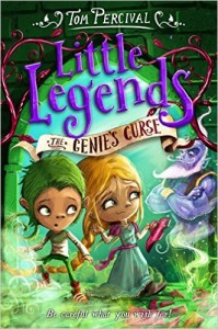Little Legends: The Genie's Curse cover