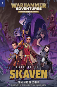 Lair of the Skaven cover